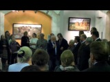 Студия ЖИВОПИСЬ-ТВ репортаж Сергея Смирнова с выставки