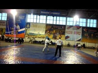 Чемпион мира Мурад Мирзабеков(ВИФК) на международном турнире Громова по армейскому рукопашному бою