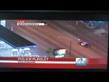 Amazing Police Car Chase! You have to see it to believe it!