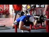 Мое выступление! Гурзуф 2012 Кубок Таврики Экстримальнывй жим 30 кг.