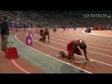 Самый быстрый человек на планете Усэйн Болт. Эстафета 4x100. Лондон 2012. Мировой рекорд