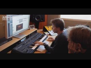 Armin van Buuren и Ferry Corsten в студии. Процесс создания «Brute»