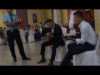Ramsuat i Olzhas pappuri na gitare*klasno poiut