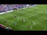 Чемпионат Испании 2013-14 / 2-й тур / Малага - Барселона / 1 тайм [720р HD]
