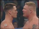 John Cena - Brock Lesnar confrontation (WWE SmackDown 27/03/2003)