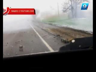 Две машины взорвались при столкновении на трассе под Кореновском