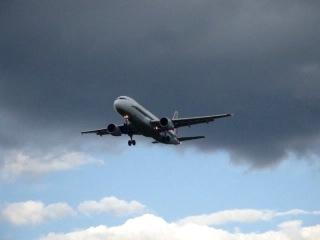 Airbus A320-200 Alitalia EI-IKB (Италия). Посадка в Шереметьево 26.08.2012.