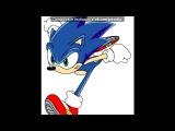 Sonic the Hedgehog  под музыку OST Sonic adventure DX - sonic. Picrolla