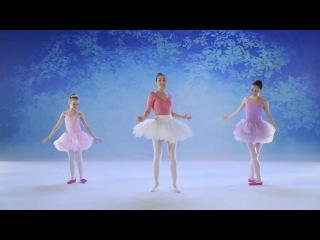 Барби: балерина в розовых пуантах. Уроки танцев (часть 8) [RUS]