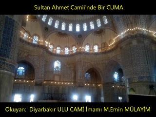 Sultan Ahmette Muhteşem Bir Ezan (M.Emin Mülayim)