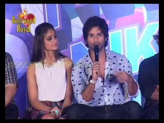 Shahid Kapoor & Illeana D'Cruz at Poster launch of 'Phata Poster Nikhla Hero' Part 2