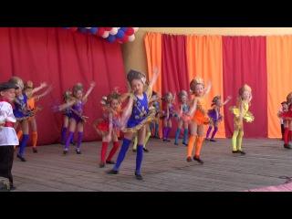 12 06 2013 г Выступление ансамбля эстрадного танца Атлантида на дне города в летнем саду