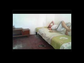 Drunk girl pees herself