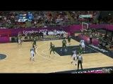 ХХХ Летние Олимпийские Игры / Баскетбол / Мужчины / Группа A / 3-й тур / США - Нигерия 2