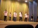 Танец девочек на празднике Давай, Россия