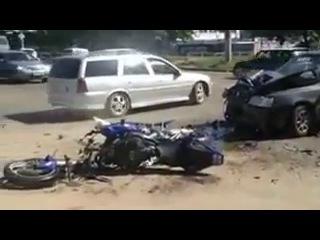 ДТП в Иваново, авария у мечети 08.08.2012