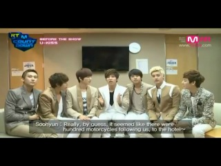 RT MCD - Before The Show - U-KISS cut (Рус.Суб)