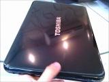 Toshiba Satellite L840 Series Black color (L840-A609 Gloss Precious Black with Crossline)
