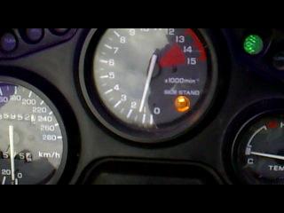 Проверка генератора в Honda CBR600F2