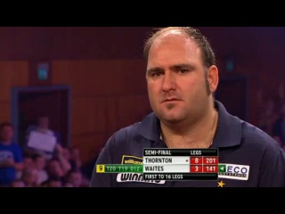 Robert Thornton vs Scott Waites (Grand Slam of Darts 2013 / Semi Final)