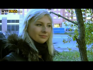 Blonde in crazy public fuck adventure ( Kathy)