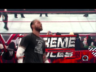 CM Punk Vs. Chris Jericho (Match for WWE Championship Extreme Rules 2012) Part 1/2