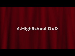 Top 10 Ecchi,Harem,Comedy,Romance Animes 2 (HD)