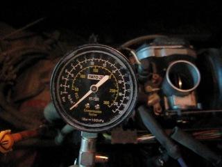 Компрессия 18 очков в бензиновом моторе Golf 3 AEX 1.4