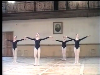 Svetlana Zakharova Daria Pavlenko in Class Vaganova Academy of Russian Ballet