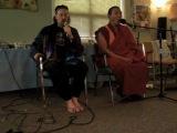 Jonathan Goldman and Lama Tashi. Healing Sounds Intensive
