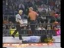 ( WCW Monday Nitro 13.12.99 - Chris Benoit vs. Jeff Jarrett (Bunkhouse Brawl)