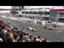 Формула 3.5, гонка 1, старт на прогревочный круг
