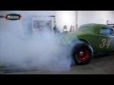 Nene NHRA - Ford 34 Drag Rat V8 Blower - Burnout