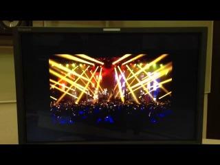 Монтаж эфирной версии концерта