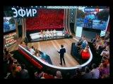 Ольга Орлова и Наталья Лагода в передаче «Прямой Эфир» (08.07.2013)