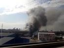 Пожар на офисно-складском помещении в ста метрах от ТЦБелая дача
