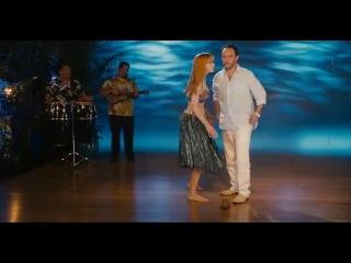Адам сендлер и Дженифер Энистон - Притворись моей женой!!! - сцена танца влюбленных пар с какосом без рук!