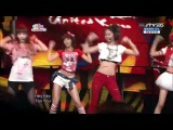 [HD] After School & f(x) - Girlfriend (Special Stage) June 13, 2010