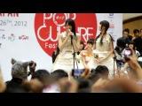 [FANCAM] 2012.02.26 Japan Pop Culture Festival: Kawaii Fashion Show / Maeda Ami & Sato Sumire