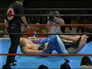 Волк Хан против Митсуя Нагаи (бой 4)