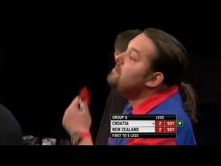 Croatia vs New Zealand (PDC World Cup of Darts 2013 / First Round)