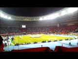 Performance before the match Spartak Moscow - Barcelona!