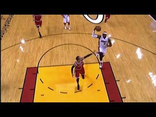 Эффектный данк ЛеБрона возглавил топ-10 лучших моментов дня в НБА (9 апреля)