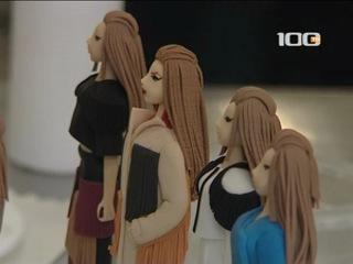 100 ТВ_сюжет о том, как создаются модели из сахара
