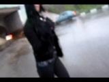 Попал под дождь с Котэ.Видео 2001 года.