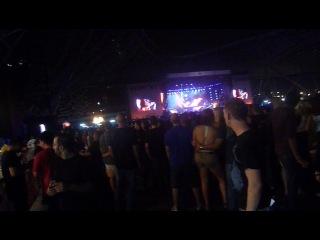 Абу Даби!концерт группы Металлика!