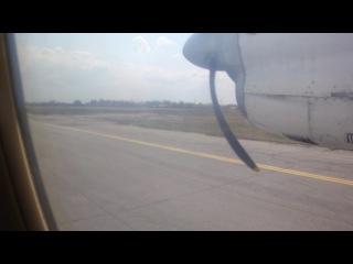 10.05.2012 - Взлёт АН-24 / Аэропорт Хабаровск / рейс Хабаровск-Ноглики