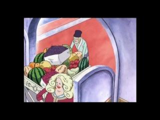 ★ Прикольный момент из аниме ★ Ван Пис (Shachiburi)