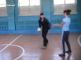 Наши девчонки лучше всех играют в воллейбол)