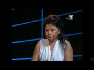 Виктория Субота в программе Х-Версии на ТВ3 (Эфир от 27.07.2012)